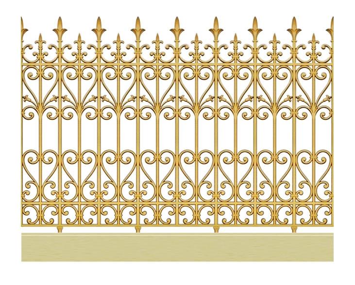 Hàng rào hợp kim nhôm HR002