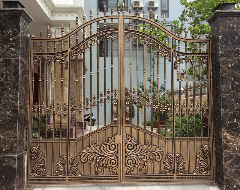 Cửa cổng hợp kim nhôm C059