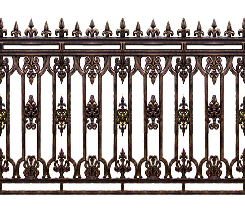 Hàng rào hợp kim nhôm HR013