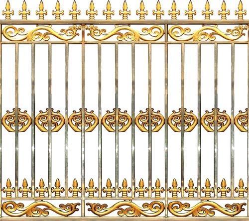 Hàng rào hợp kim nhôm HR014