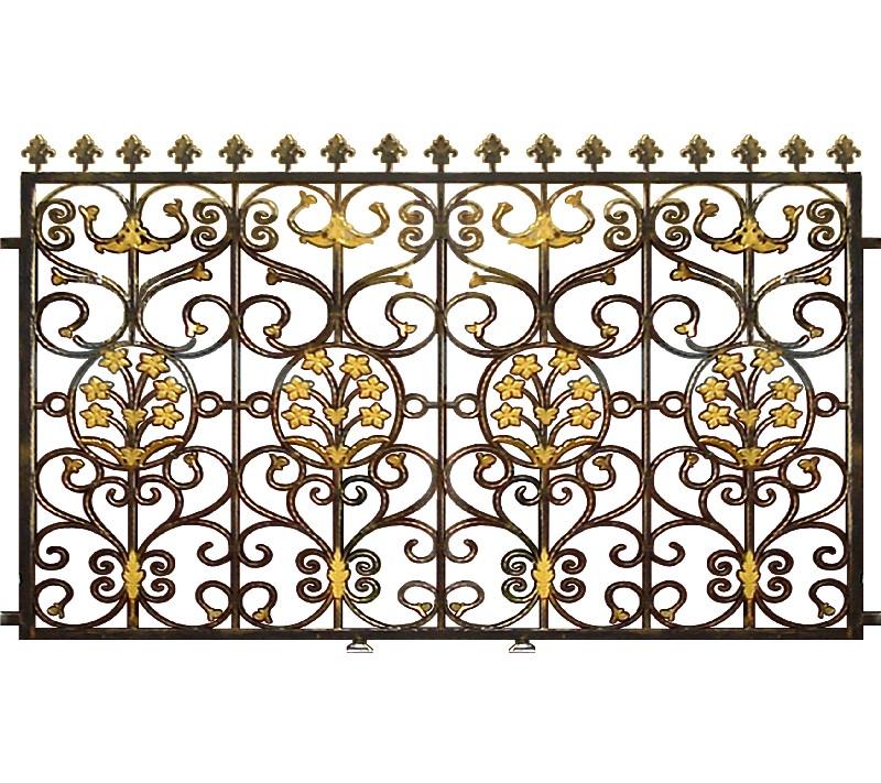 Hàng rào hợp kim nhôm HR015