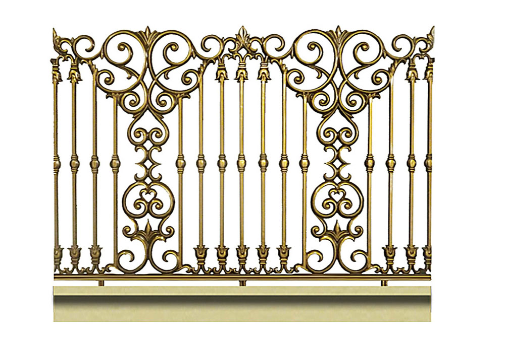 Hàng rào hợp kim nhôm HR016
